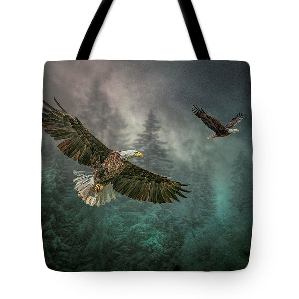 Valley Of The Eagles. Tote Bag