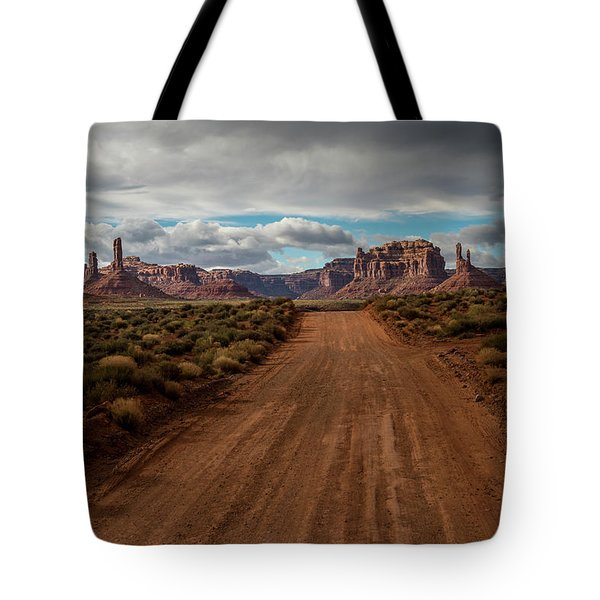 Valley Of The Gods Tote Bag