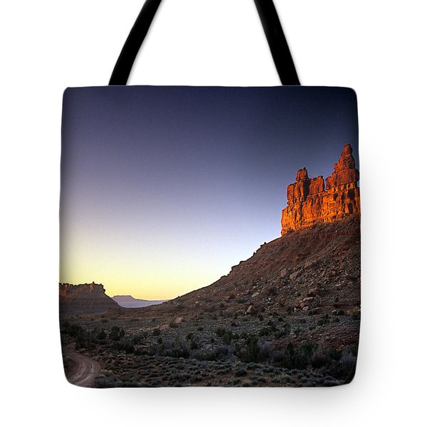 Valley Of The Gods Sunrise Tote Bag