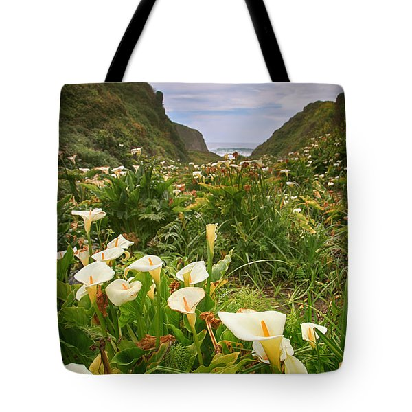 Valley Of The Lilies Tote Bag
