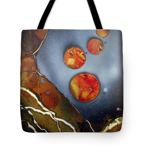 Valley Of The Moons Tote Bag by Arlene  Wright-Correll