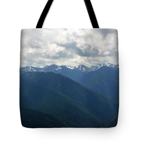 Tote Bag featuring the photograph Valley Of The Olympics by Tikvah's Hope