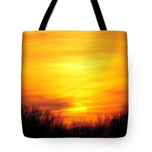 Valley Of The Sun Tote Bag by Frozen in Time Fine Art Photography