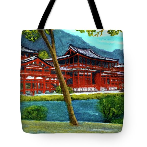 Valley Of The Temples Buddhist Temple #73 Tote Bag by Donald k Hall
