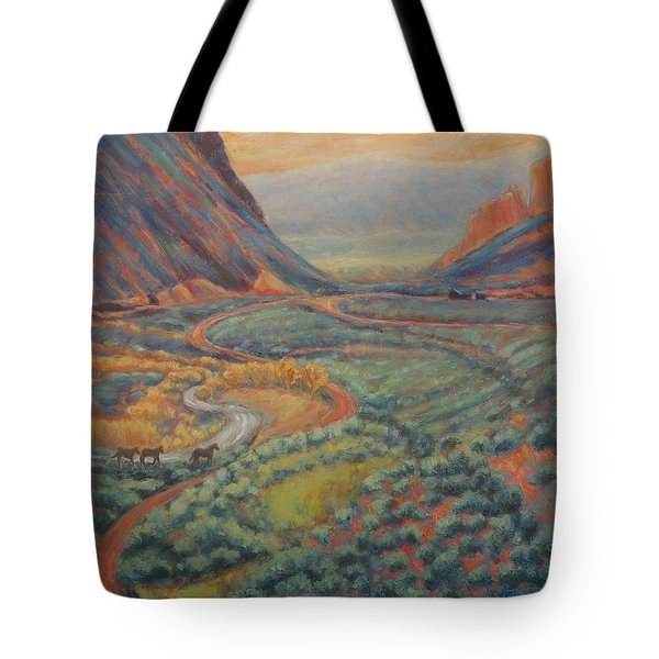 Valley Passage Tote Bag