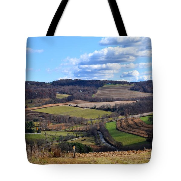 Valley View Dutchess County New York Tote Bag