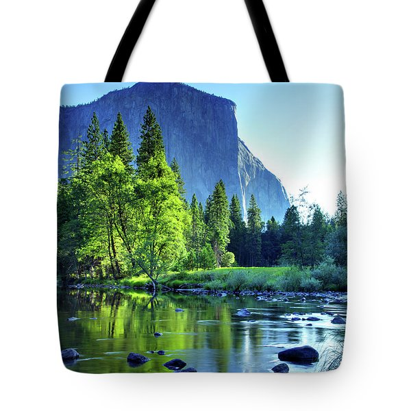 Valley View Morning Tote Bag
