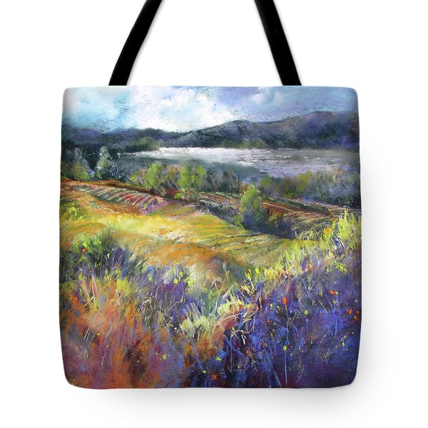 Valley View Tote Bag by Rae Andrews