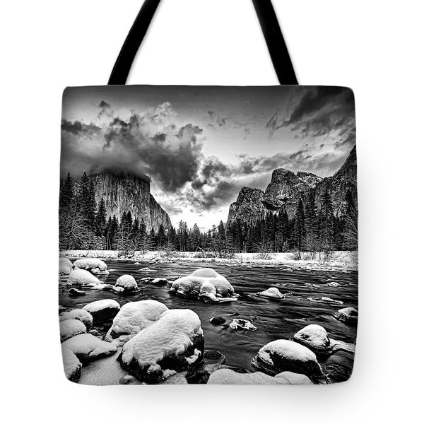 Valley View - Yosemite Valley Tote Bag