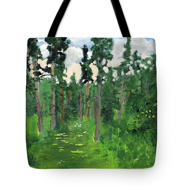 Valley Walk Tote Bag by Rodger Ellingson