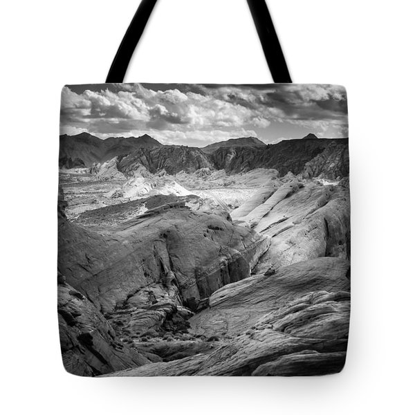 Valley Of Fire Expanse Tote Bag by Jason Moynihan