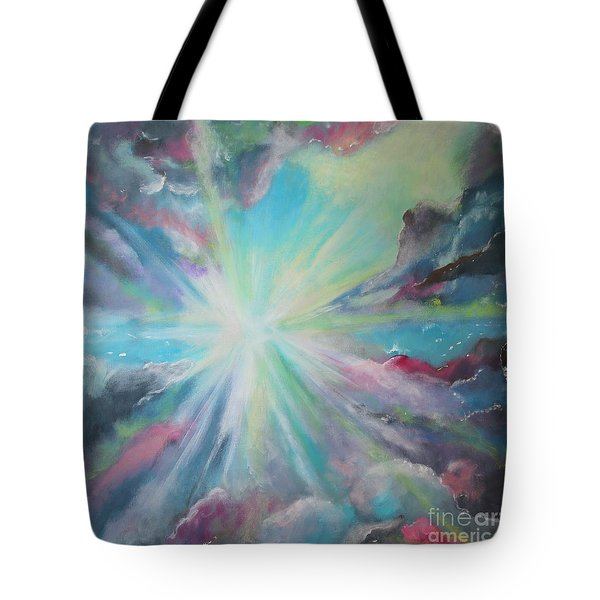Inspire Tote Bag by Stacey Zimmerman