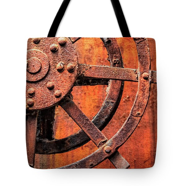 Valve Control Sloss Tote Bag by Phillip Burrow
