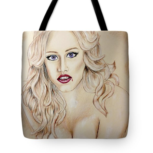 Vampire Shannon Tote Bag by Vincent Wolff