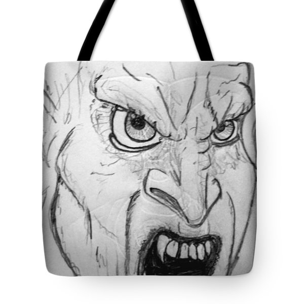 Vampire-y Ghouly Sort Of Thing Tote Bag by Yshua The Painter