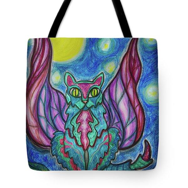 Vampy Kitty Tote Bag