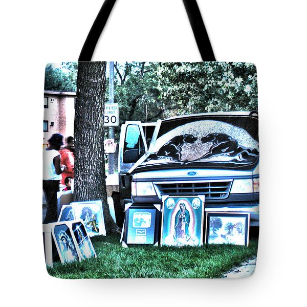 Van Art Tote Bag