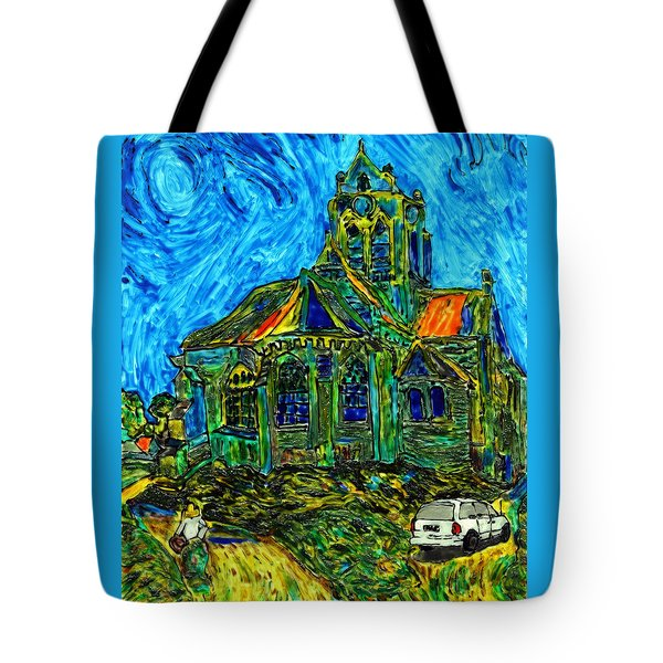 Van Goes To Auvers Tote Bag