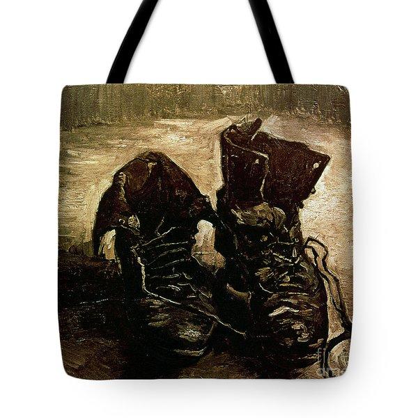 Van Gogh Boots 1886 Tote Bag by Granger