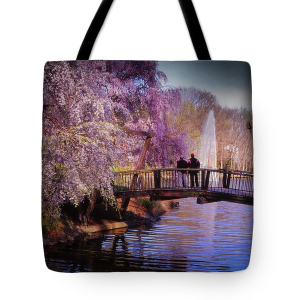 Van Gogh Bridge - Reston, Virginia Tote Bag