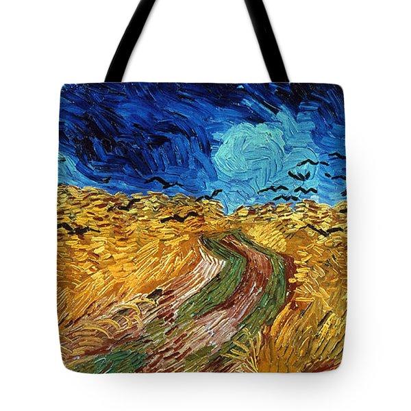 Van Gogh: Wheatfield, 1890 Tote Bag by Granger
