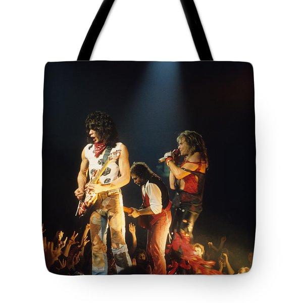 Van Halen 1984 Tote Bag