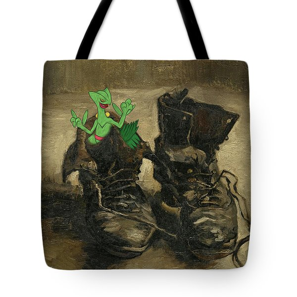 Tote Bag featuring the digital art Van Septilegogh by Greg Sharpe