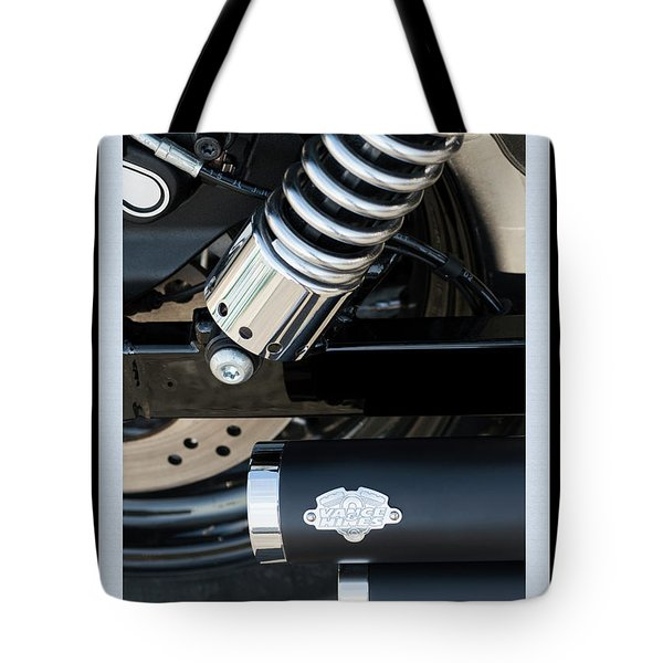 Tote Bag featuring the photograph Vance And Hines by Wendy Wilton
