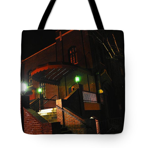 Vancouver Arts Building Tote Bag by Steve Warnstaff