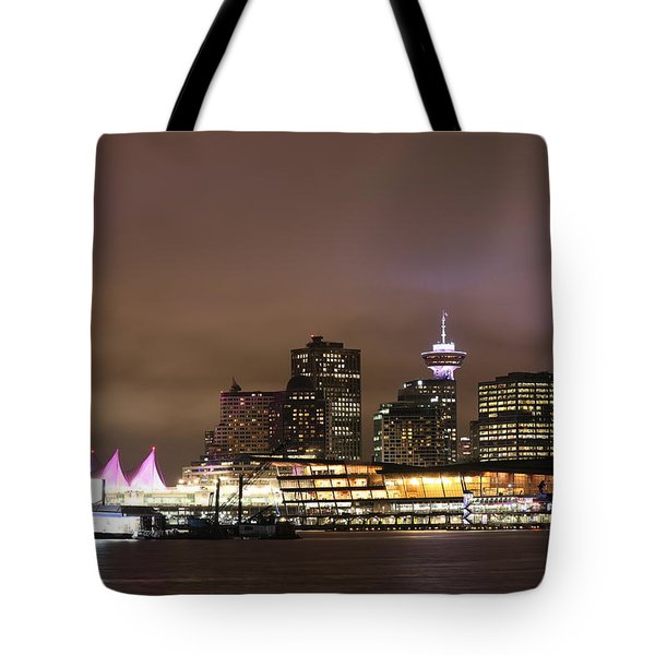 Vancouver Canada Place Tote Bag
