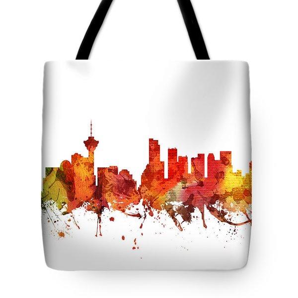 Vancouver Cityscape 04 Tote Bag