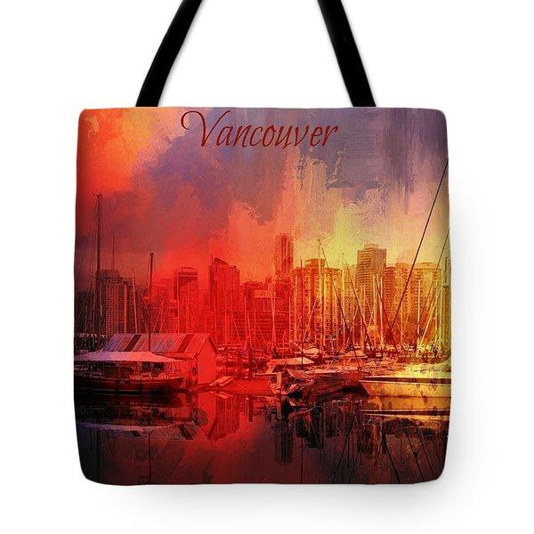 Vancouver Tote Bag by Eva Lechner