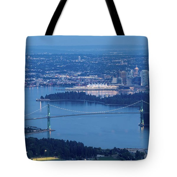 Vancouver Harbour Late Afternoon Tote Bag