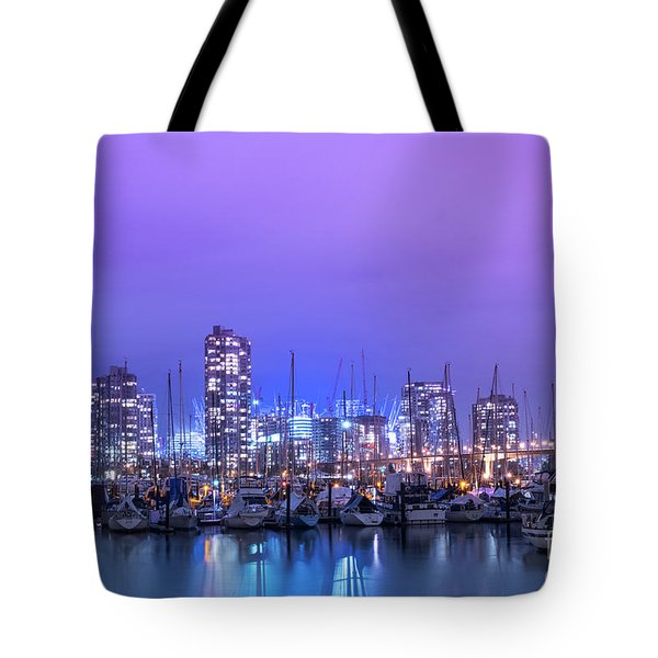 Tote Bag featuring the photograph Vancouver by Juli Scalzi