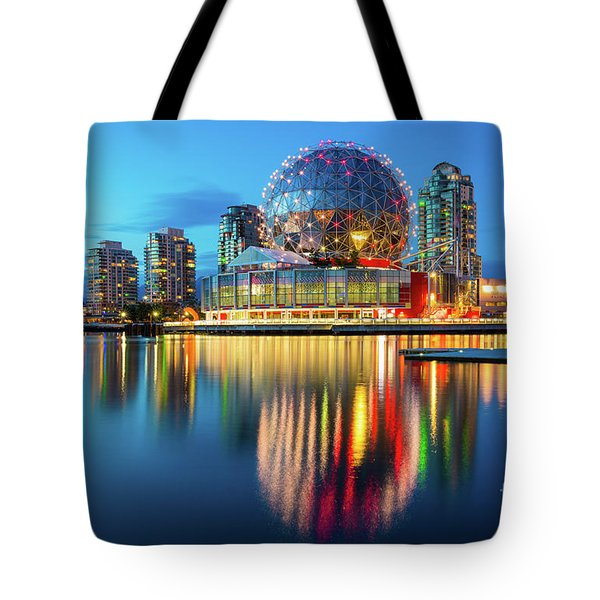Vancouver Science World Tote Bag