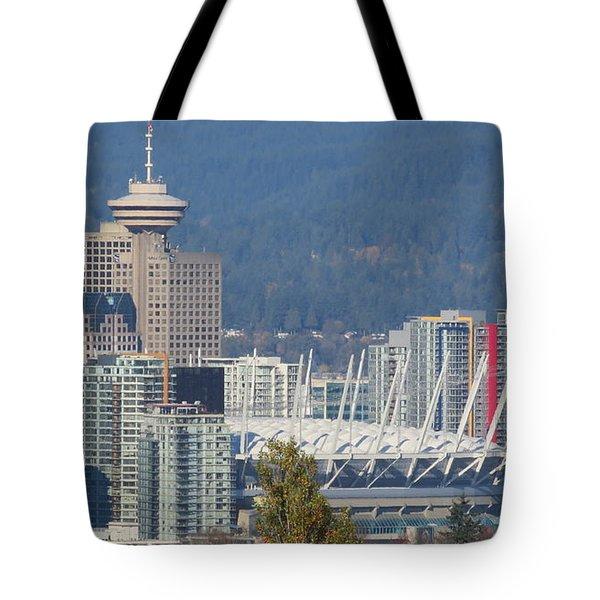 Vancouver Stadium Tote Bag