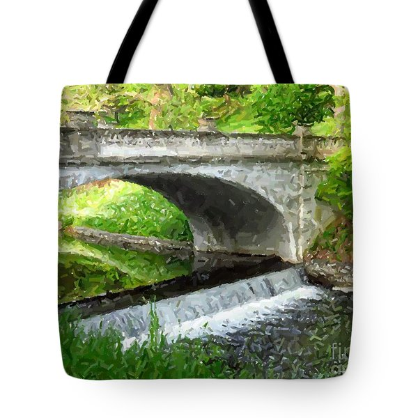 Vanderbilt Bridge Tote Bag