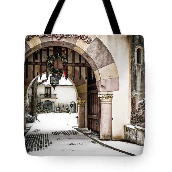 Vanderbilt Holiday Tote Bag