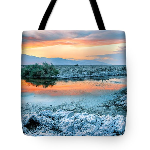 Vanilla Sunset Tote Bag