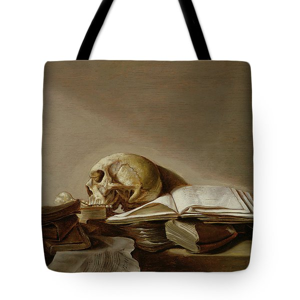 Vanitas Tote Bag by Jan Davidsz de Heem