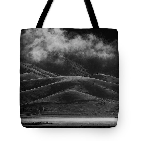 Tote Bag featuring the photograph Vapor by Brian Duram