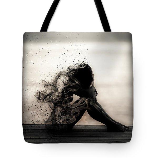 Vapours Of Sadness Tote Bag