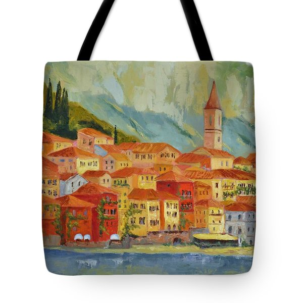Varenna  Italy Tote Bag by Ginger Concepcion