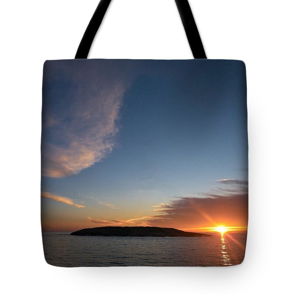 Tote Bag featuring the photograph Variations Of Sunsets At Gulf Of Bothnia 2 by Jouko Lehto