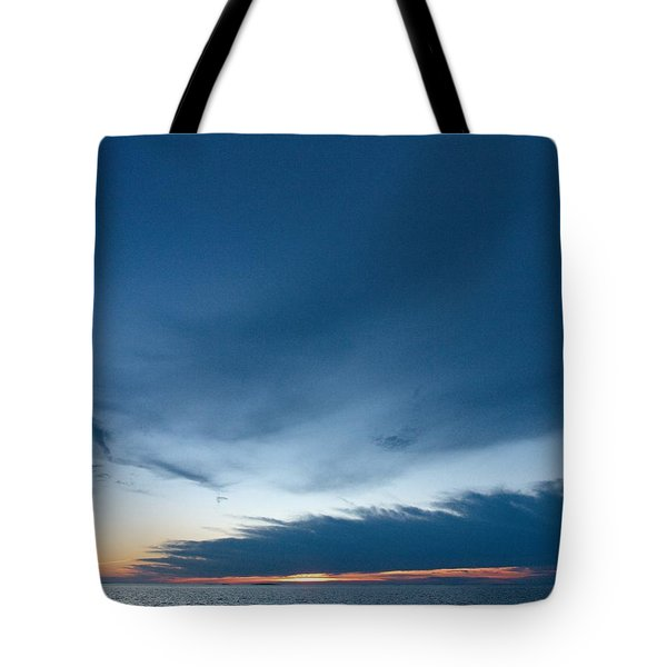 Tote Bag featuring the photograph Variations Of Sunsets At Gulf Of Bothnia 4 by Jouko Lehto