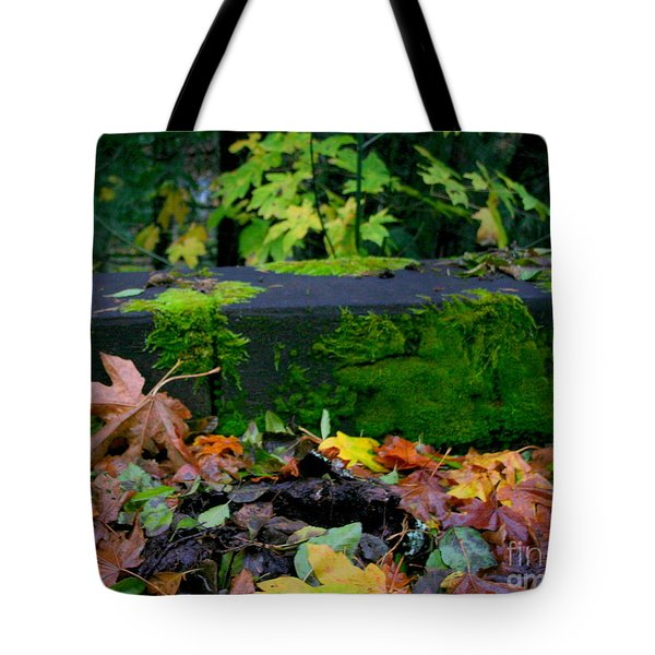 Varigated Fall Tote Bag