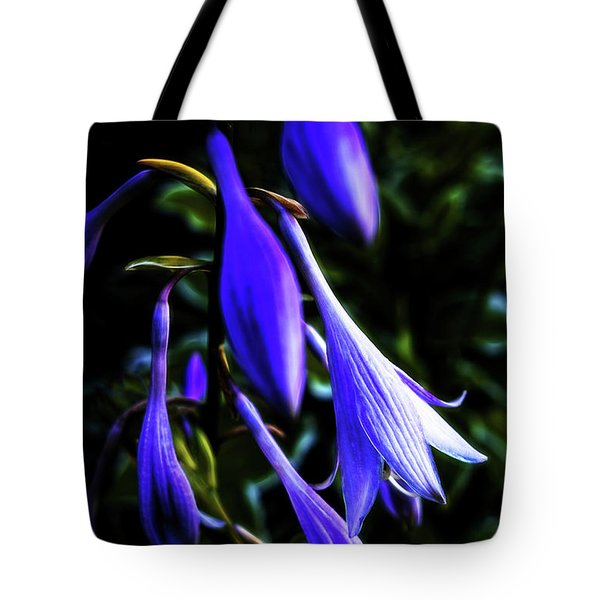 Varigated Hosta Bloom Tote Bag