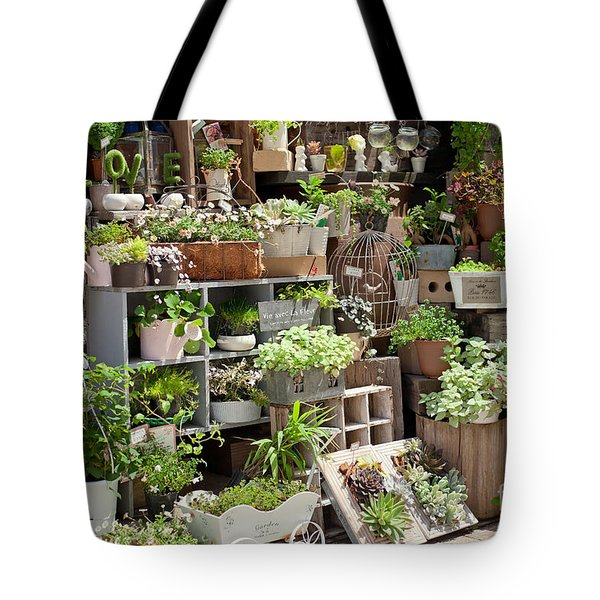 Various Green Tote Bag by Aiolos Greek Collections
