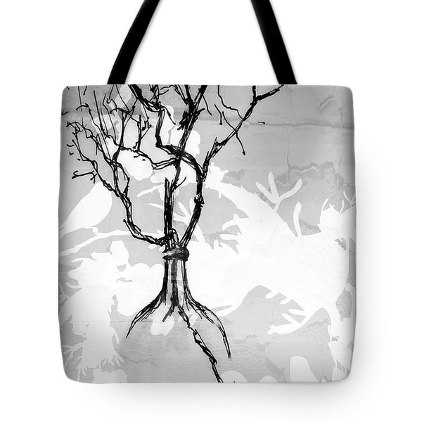 Vase Tote Bag by Barbara Andolsek