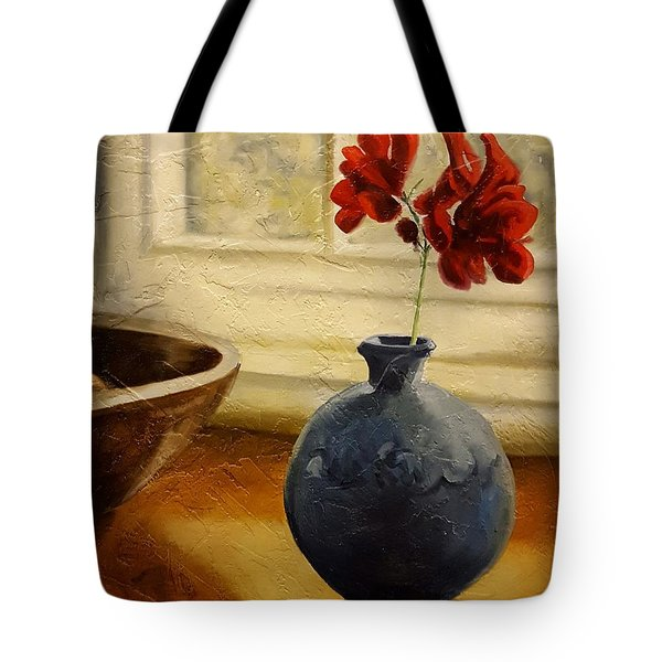 Vase And Bowl Tote Bag